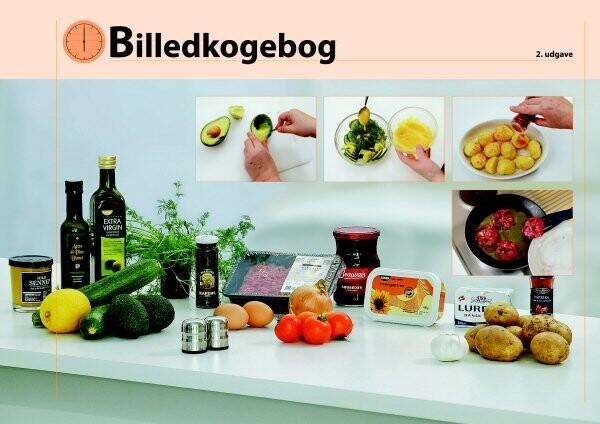 Image of   Billedkogebog - John S. Pedersen - Bog