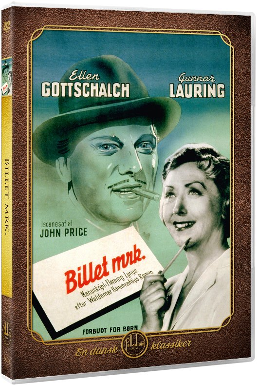 Image of   Billet Mrk. - DVD - Film