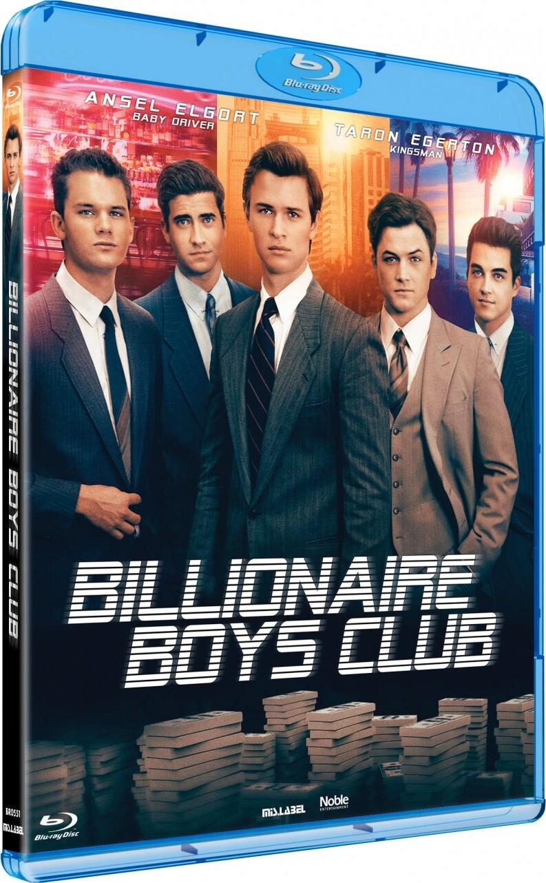 Image of   Billionaire Boys Club - Blu-Ray