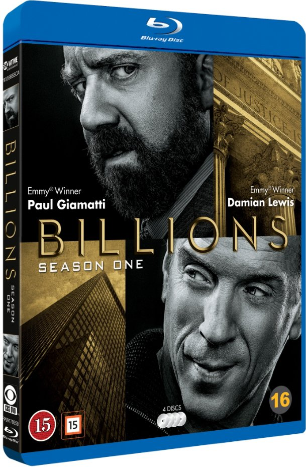 Billions - Sæson 1 - Blu-Ray - Tv-serie