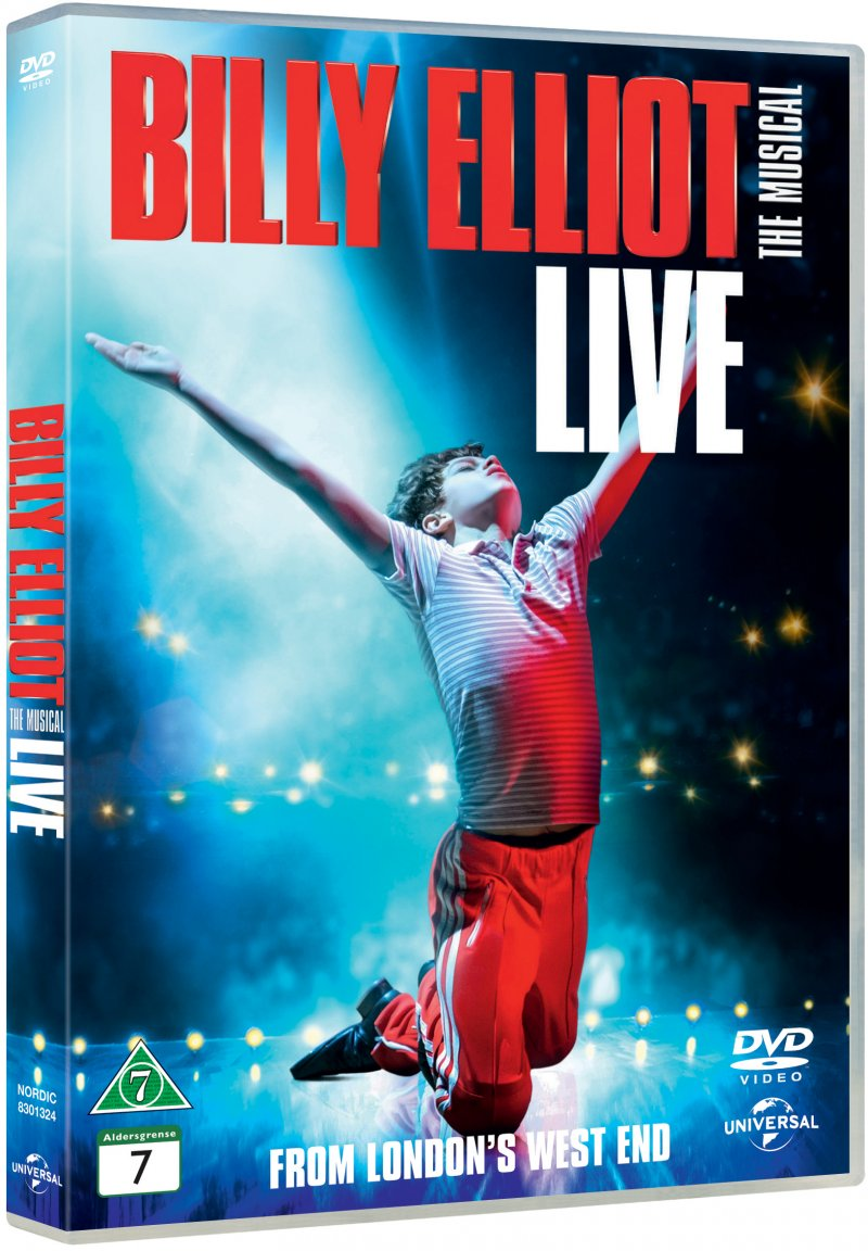 Billede af Billy Elliot Film - The Musical Live - DVD - Film