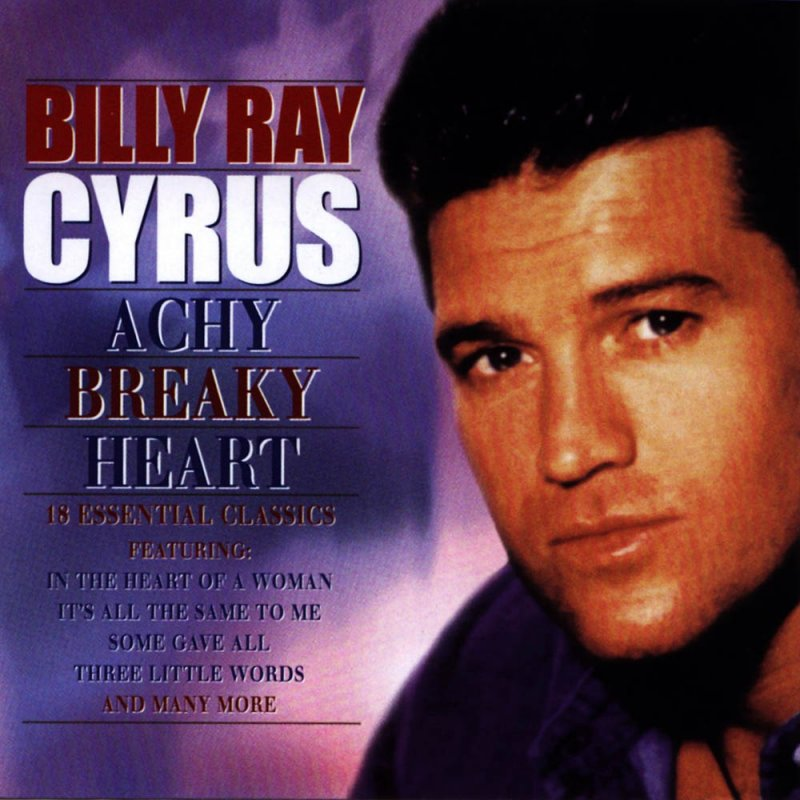 Image of   Billy Ray Cyrus - Achy Breaky Heart - CD