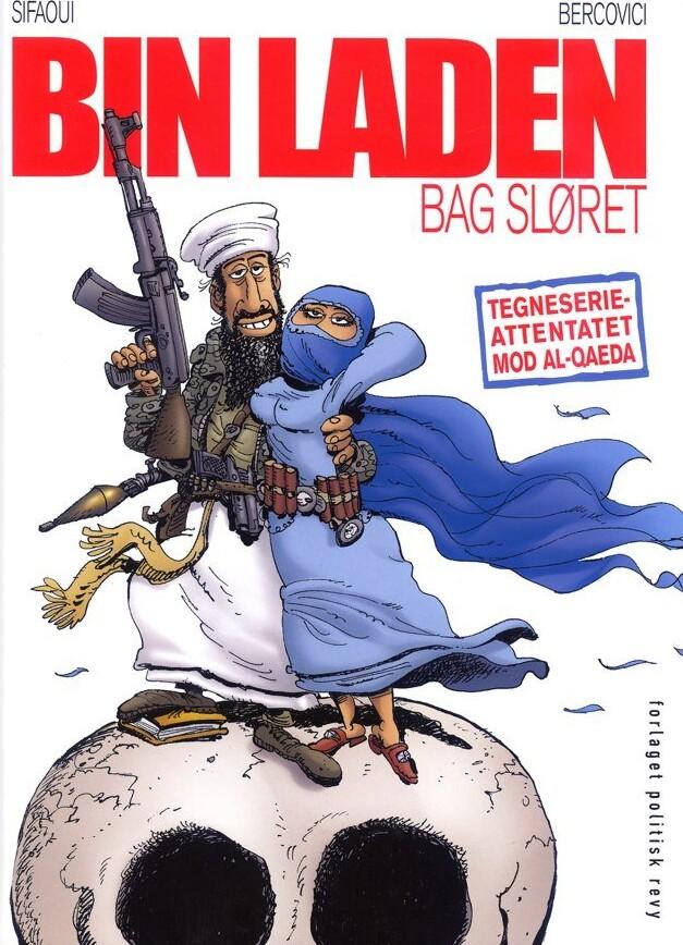 Image of   Bin Laden Bag Sløret - Muhamed Sifaoui - Tegneserie