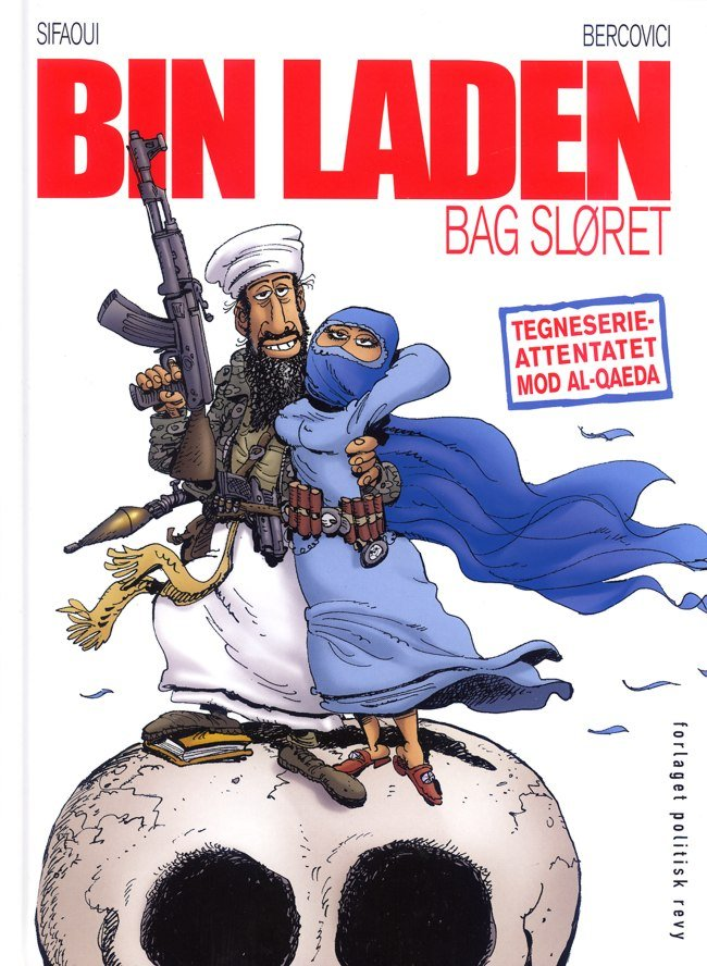 Image of   Bin Laden Bag Sløret - Muhamed Sifaoui - Tegneserie