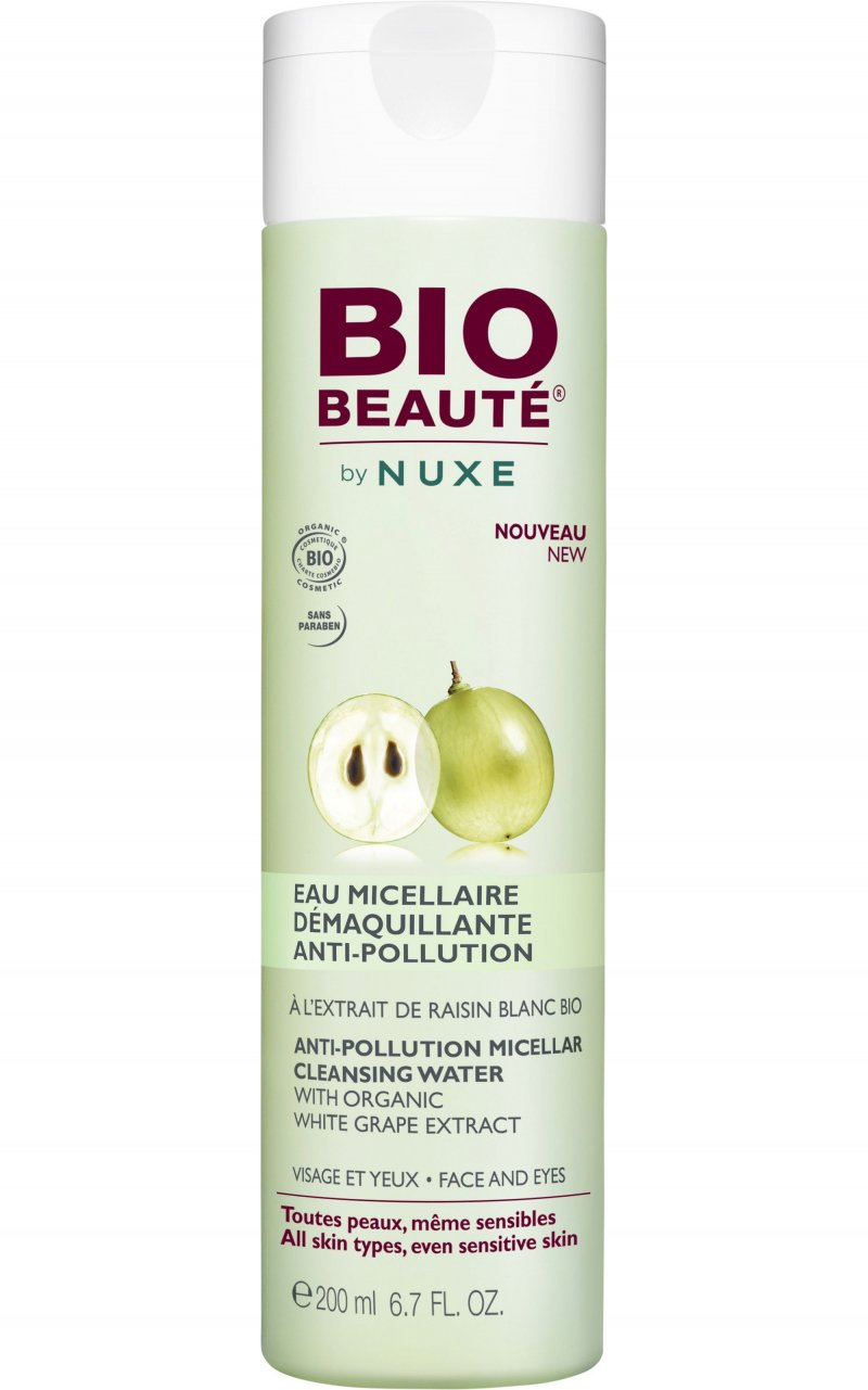 Image of   Bio Beauté By Nuxe Anti-pollution Micellar Cleansing Water - 200 Ml