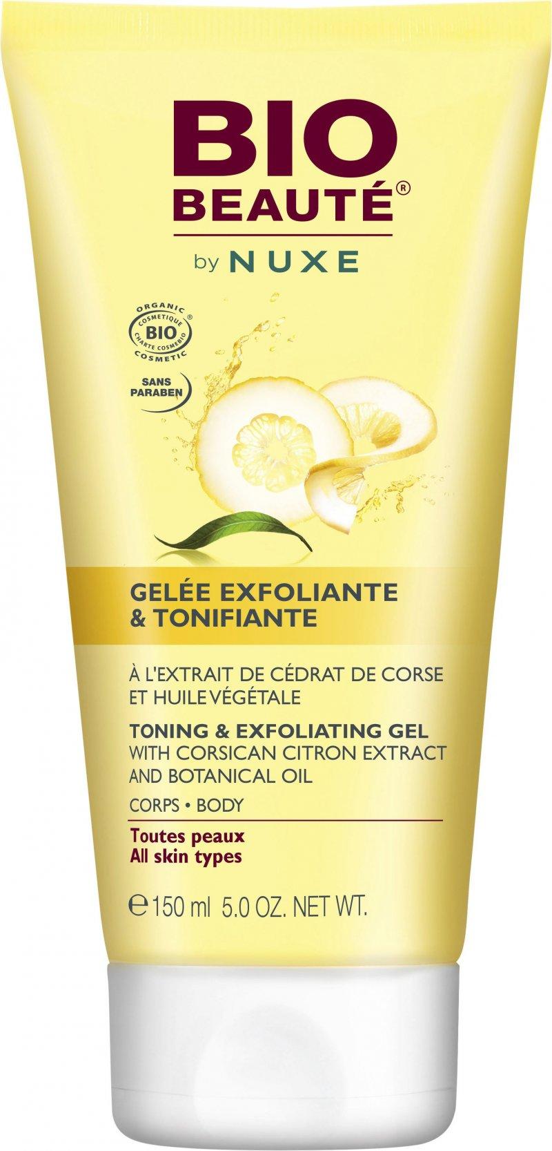Image of   Bio Beauté By Nuxe Body Scrub - Toning & Exfoliating Gel 150 Ml