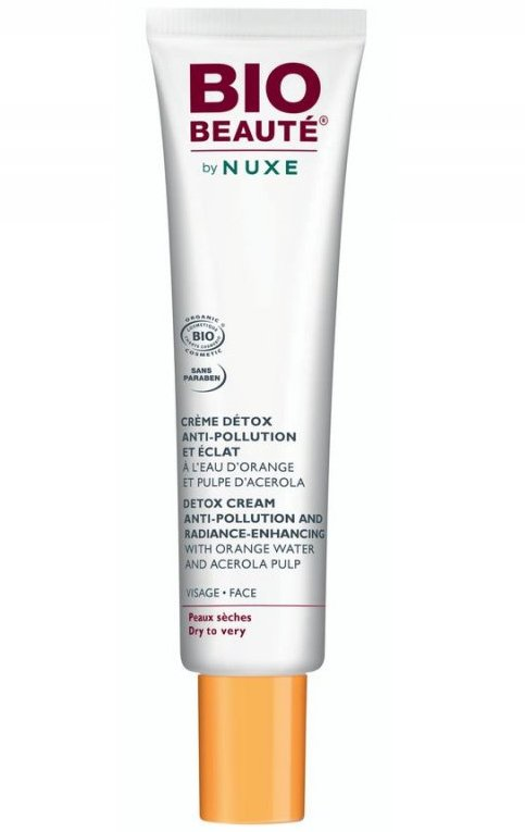 Bio-beautè By Nuxe Detox Cream Anti-pollution And Radiance Enchancing - 40 Ml