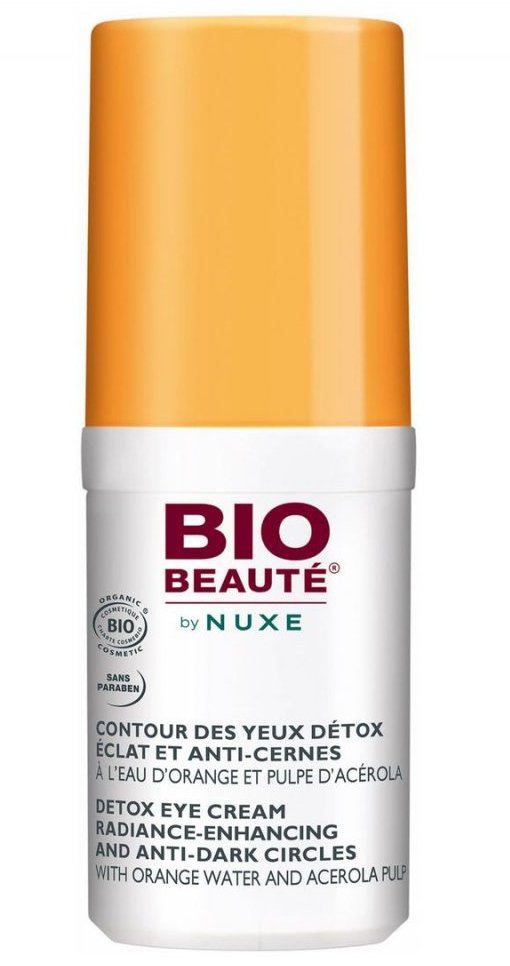 Bio-beautè By Nuxe Detox Eye Cream Radiance-enchancing And Anti-dark Circles - 15 Ml