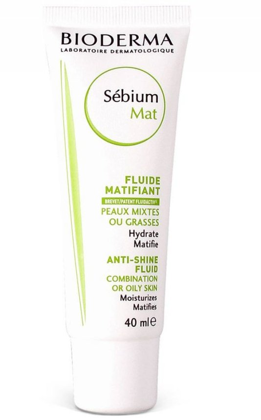 Bioderma Sebium Mat Moisturising Mattifying Fluid - 40 Ml