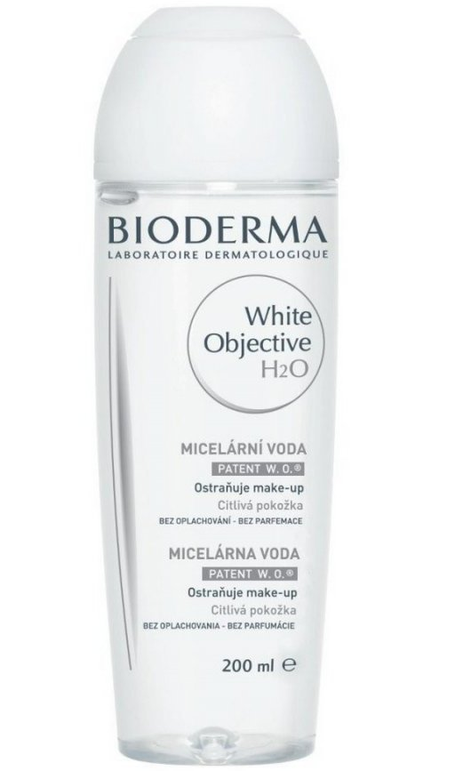 Image of   Bioderma Makeup Remover - White Objective H2o - 200 Ml