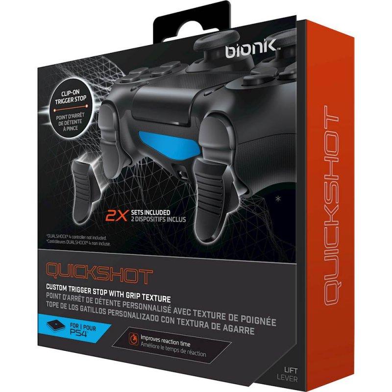 Image of   Bionik Quick Shot Aftrækker Lås Sæt Til Playstation 4