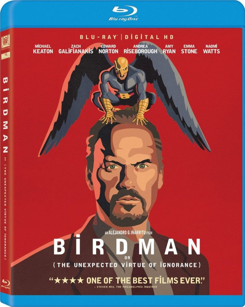 Image of   Birdman - Blu-Ray
