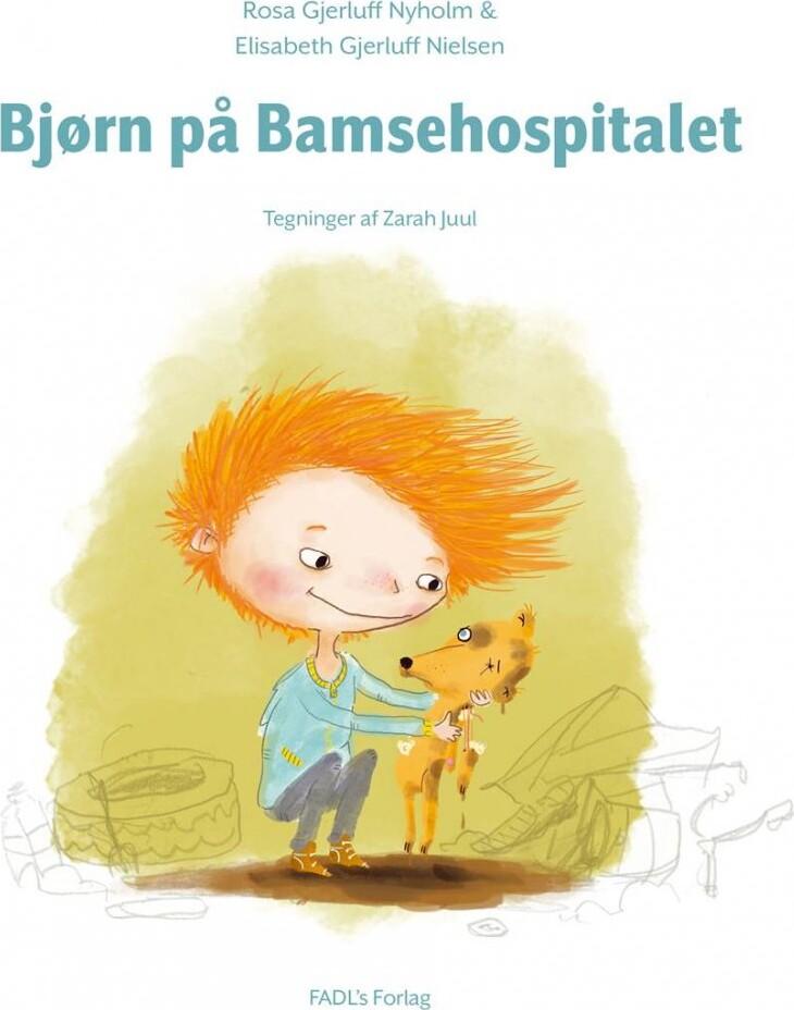 Image of   Bjørn På Bamsehospitalet - Rosa Gjerluff Nyholm - Bog