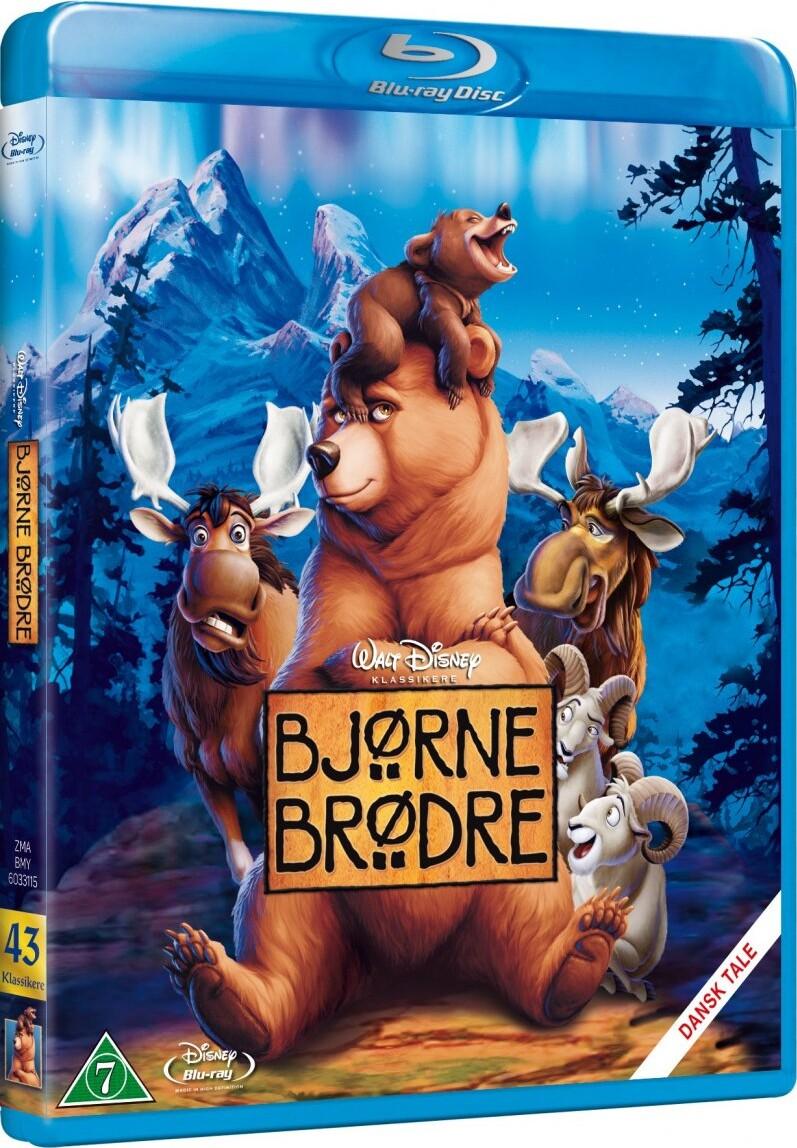 Image of   Bjørne Brødre - Disney - Blu-Ray