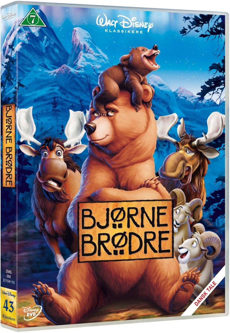 Image of   Bjørne Brødre - Disney - DVD - Film