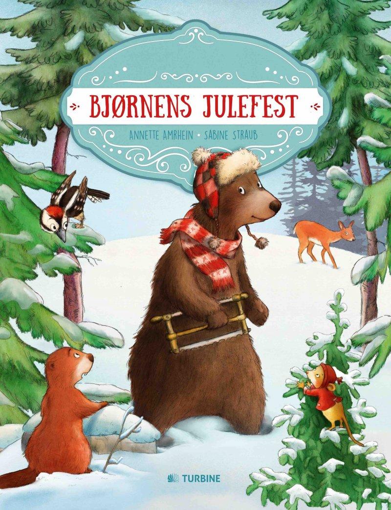 Bjørnens Julefest - Annette Amrhein - Bog