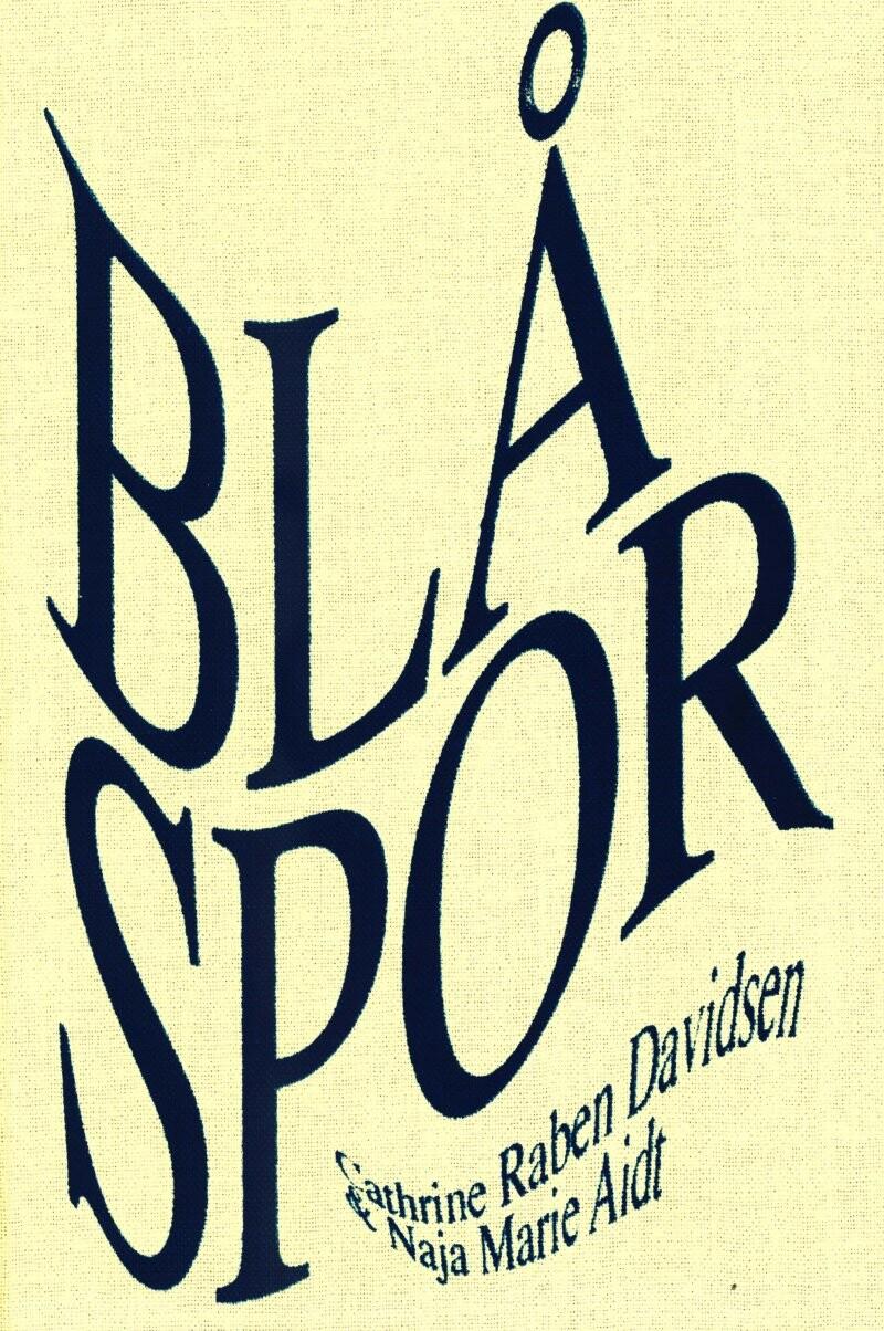Blå Spor - Naja Marie Aidt - Bog