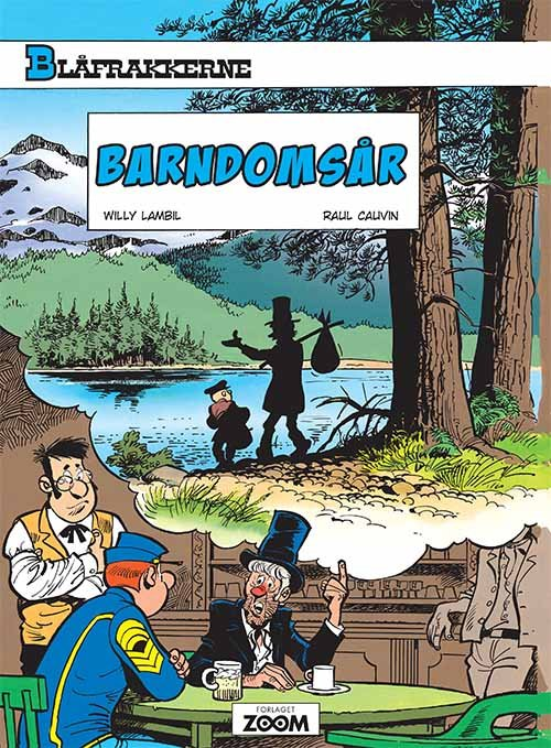 Image of   Blåfrakkerne: Barndomsår - Raoul Cauvin - Tegneserie