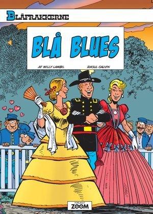 Billede af Blåfrakkerne: Blå Blues - Willy Lambil - Tegneserie