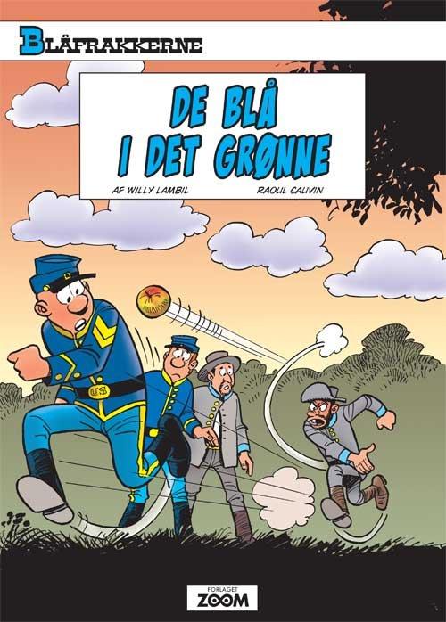 Image of   Blåfrakkerne: De Blå I Det Grønne - Willy Lambil - Tegneserie