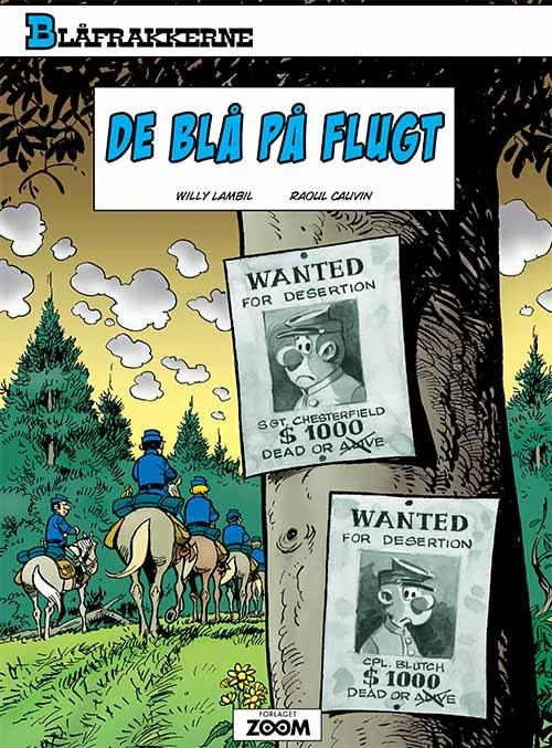 Image of   Blåfrakkerne: De Blå På Flugt - Raoul Cauvin - Tegneserie