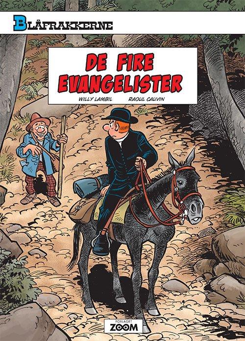 Image of   Blåfrakkerne: De Fire Evangelister - Raoul Cauvin - Tegneserie