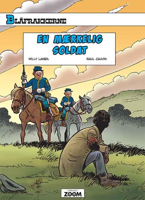 Billede af Blåfrakkerne: En Mærkelig Soldat - Raoul Cauvin - Tegneserie