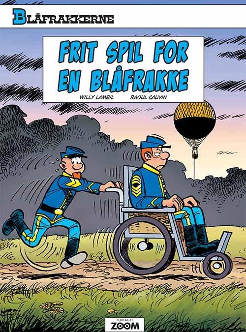 Image of   Blåfrakkerne: Frit Spil For En Blåfrakke - Raoul Cauvin - Tegneserie