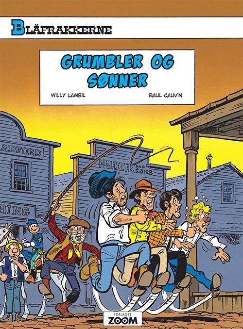 Billede af Blåfrakkerne: Grumbler Og Sønner - Raoul Cauvin - Tegneserie