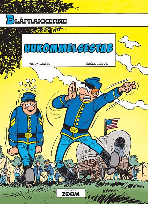 Image of   Blåfrakkerne: Hukommelsestab - Lambil - Tegneserie