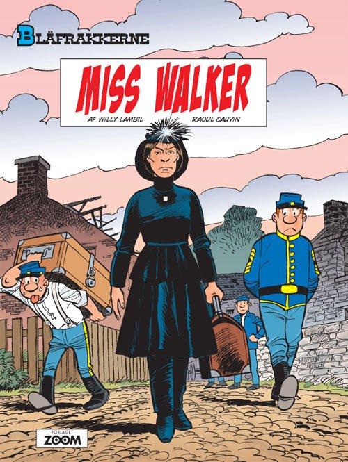 Billede af Blåfrakkerne: Miss Walker - Raoul Cauvin - Tegneserie