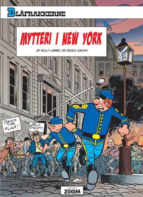 Billede af Blåfrakkerne: Mytteri I New York - Cauvin - Tegneserie
