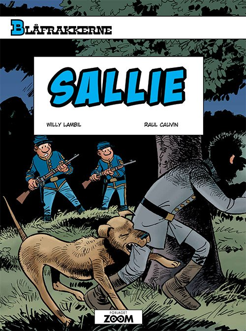 Image of   Blåfrakkerne: Sallie - Raoul Cauvin - Tegneserie