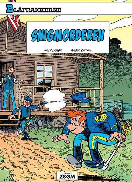 Image of   Blåfrakkerne: Snigmorderen - Raoul Cauvin - Tegneserie