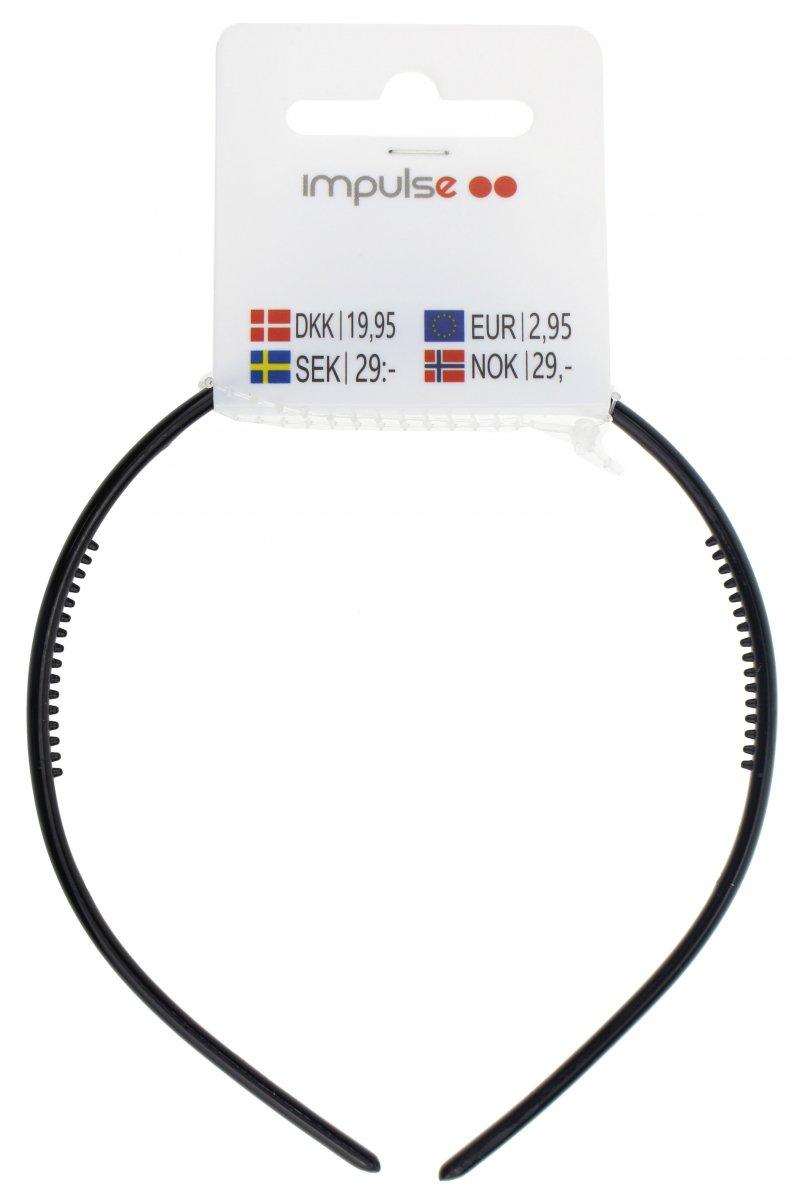 Image of   Hårbånd - Sort