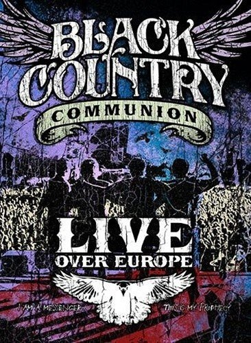 Image of   Black Country Communion - Live Over Europe - DVD - Film