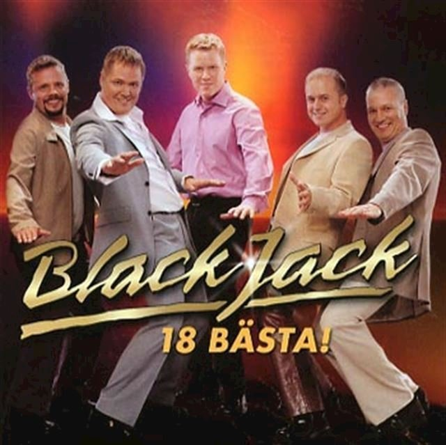 Image of   Blackjack - 18 Bästa - CD