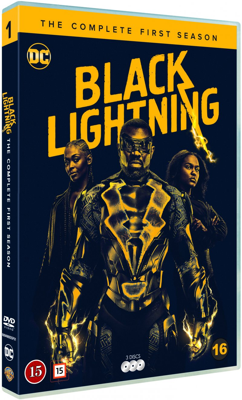 Image of   Black Lightning - Sæson 1 - DVD - Tv-serie