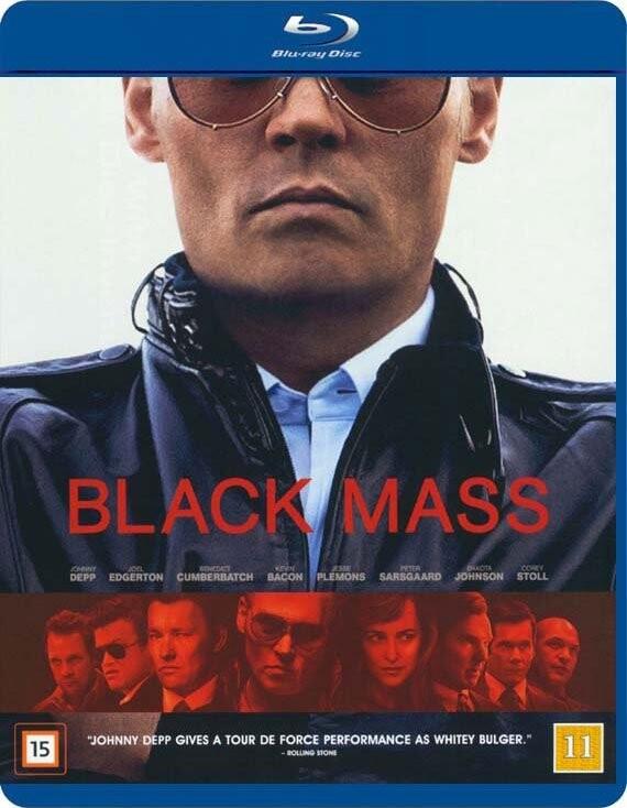 Image of   Black Mass - Blu-Ray