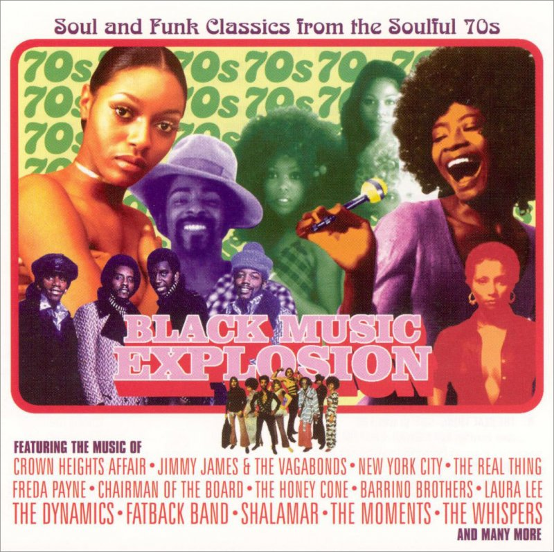 Image of   The Dynamics - Black Music Explosion - CD