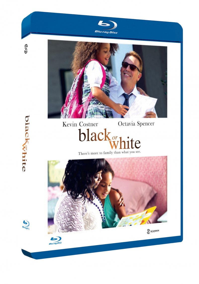 Image of   Black Or White - Blu-Ray