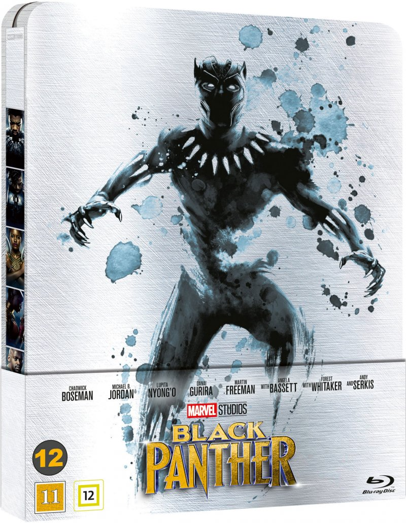 Image of   Black Panther - Steelbook - Blu-Ray