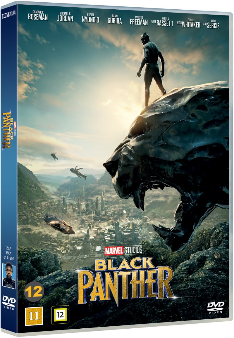 Image of   Black Panther - The Movie - Marvel - DVD - Film