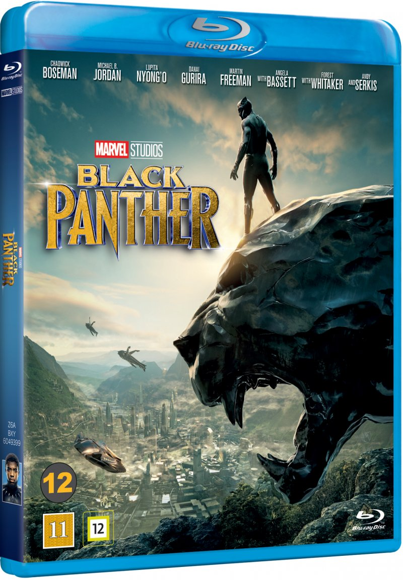 Image of   Black Panther - The Movie - Marvel - Blu-Ray