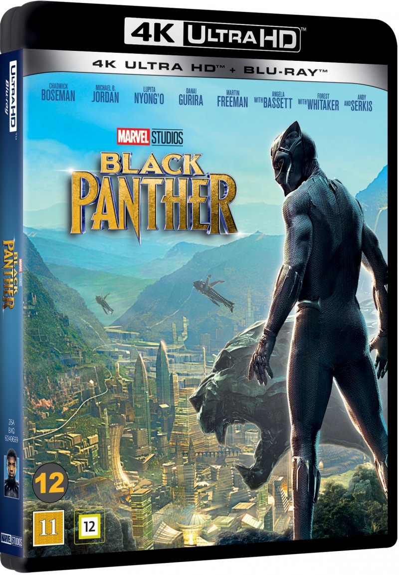 Billede af Black Panther - The Movie - Marvel - 4K Blu-Ray
