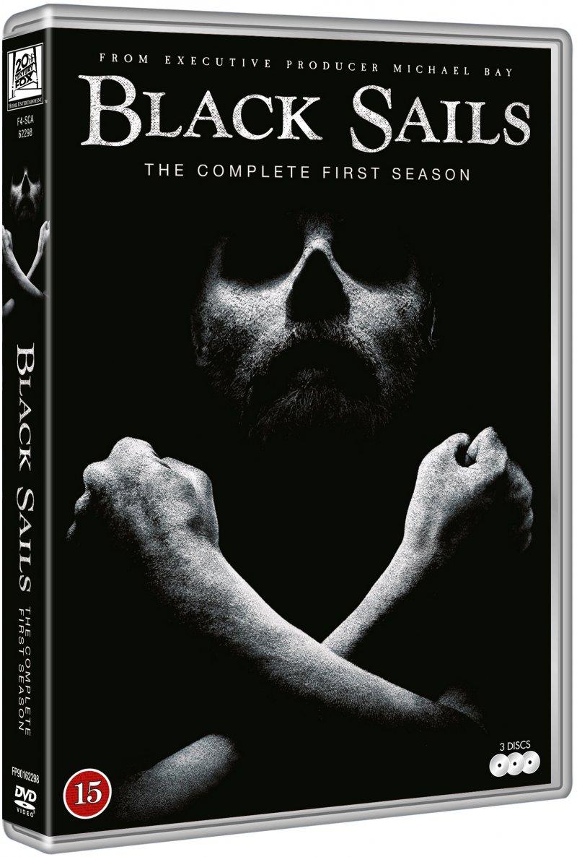 Image of   Black Sails - Sæson 1 - DVD - Tv-serie