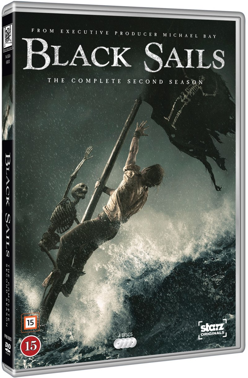 Image of   Black Sails - Sæson 2 - DVD - Tv-serie