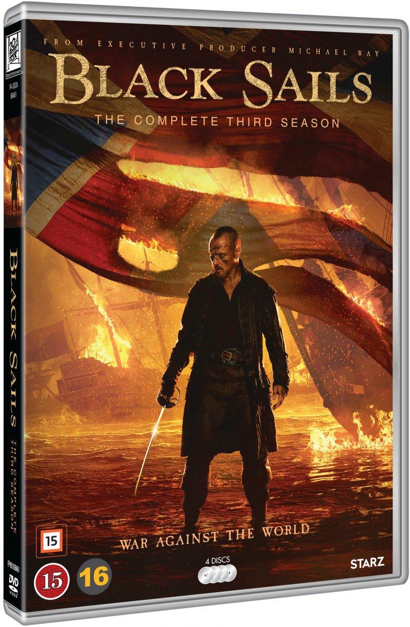 Image of   Black Sails - Sæson 3 - DVD - Tv-serie