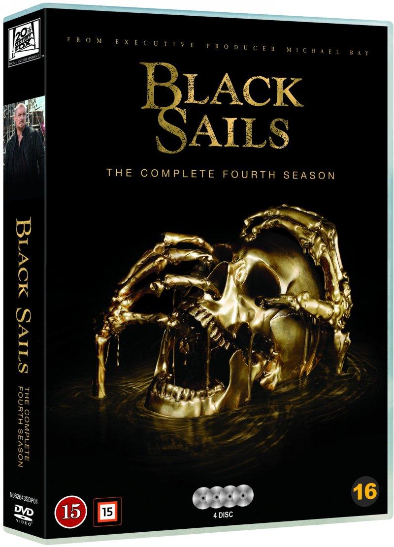Image of   Black Sails - Sæson 4 - DVD - Tv-serie