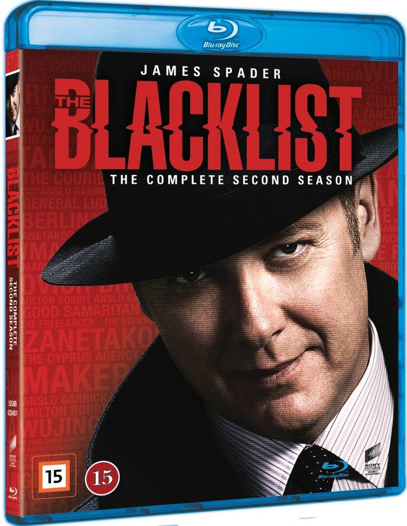 The Blacklist - Sæson 2 - Blu-Ray - Tv-serie
